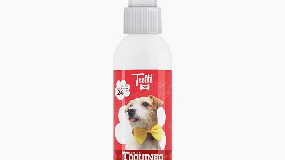 Perfume Pet Toquinho 60ml - Tutti Pet