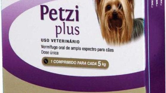 Vermífugo Cães Petzi Plus 4 comprimidos cada 5kg - Ceva