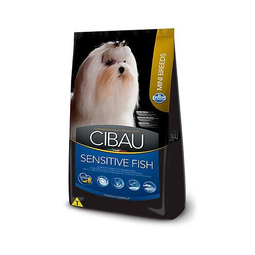 Ração Cibau Cães Mini Adult Sensitive Peixes 3kg