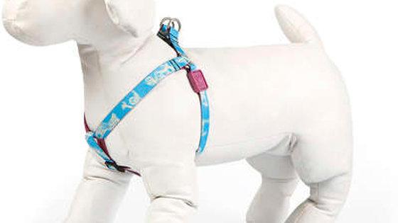Peitoral Cães tam. P com 15cm a 32cm linha Voos de Liberdade - Cusco Loko