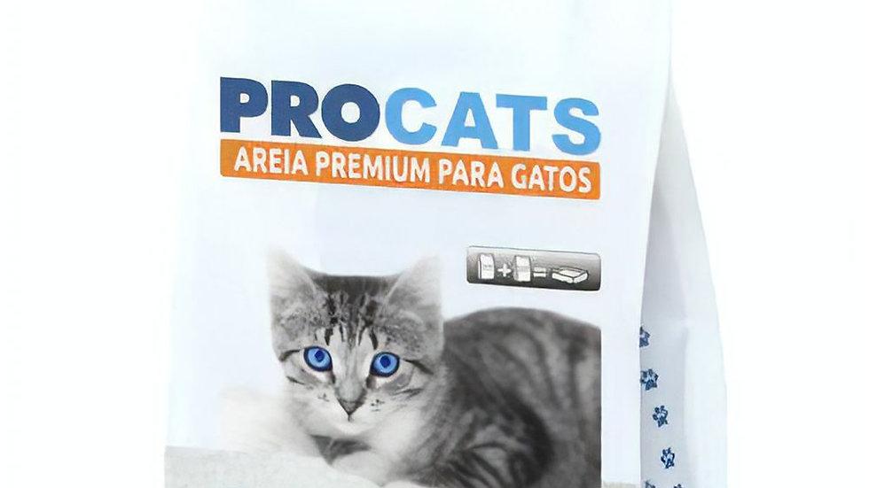 Areia Premium para Gatos 2kg - Procats