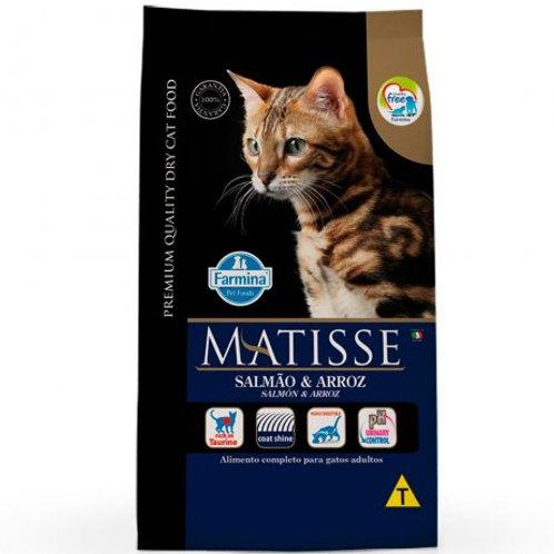 Ração Matisse Gatos Adultos Salmão e Arroz 7,5kg
