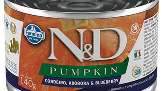 Alimento Úmido Cães Pumpkin Cordeiro140gr - ND
