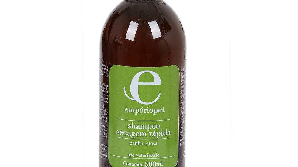 Shampoo Secagem Rápida 500ml - Empório Pet