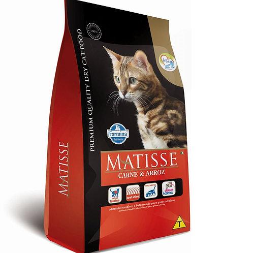 Ração Matisse Gatos Adultos sabor Carne e Arroz 7,5kg