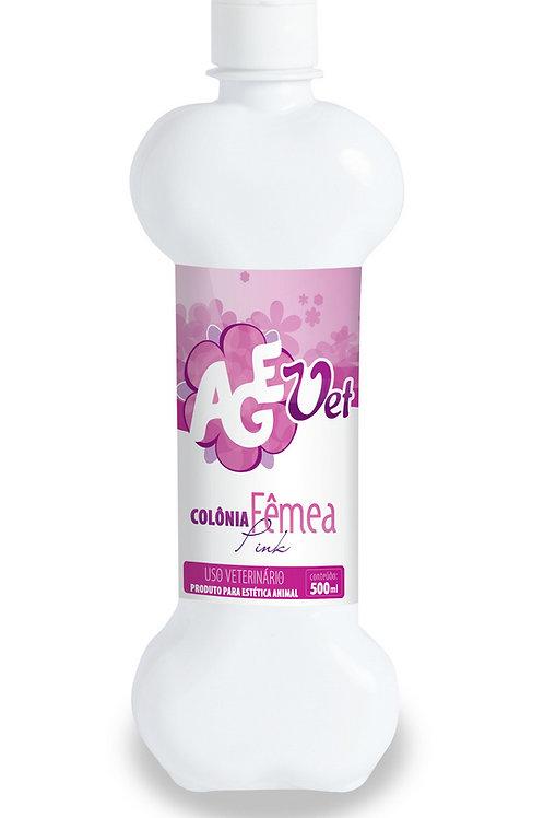 Colônia para Fêmeas Pink 500ml - Agevet