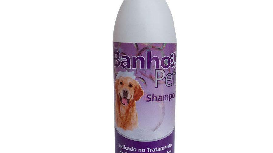 Shampoo Antipulgas Banho Pet 500ml- Syntec