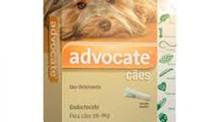 Antipulgas Advocate Cães até 4kg 0,4ml - Bayer