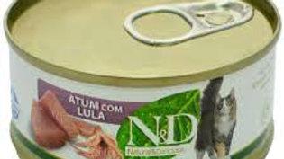 Alimento Úmido Feline Atum com Lula 70gr - ND