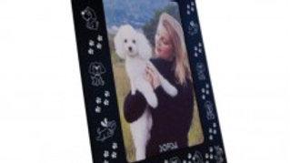 Porta Retrato moldura Cachorrinho tam. 13cm x 18cm - Puppets