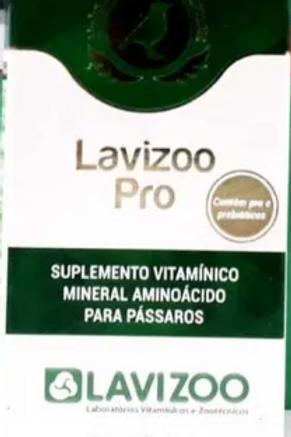 Lavizoo Pro 15ml - Pássaros
