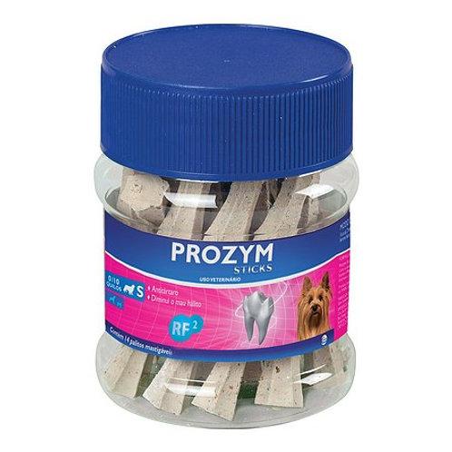 Saco com 12 unidades Sticks para Cães até 10kg Prozym RF2 tam. S  - Ceva