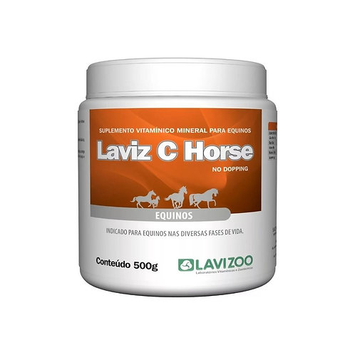 Laviz C Horse 500g Suplemento para Cavalo -Lavizoo