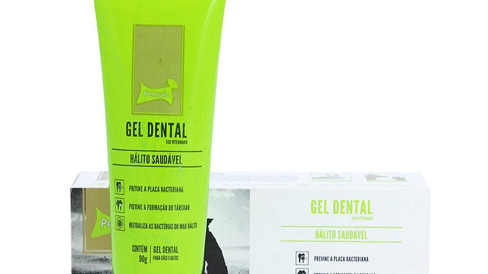 Gel Dental Cães Hálito Saudável 90gr - Pet Mais
