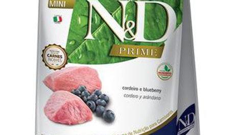 Ração ND Prime Cães Adultos Mini 800gr sabor Cordeiro - ND