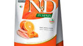 Ração ND Pumpkin Gatos Adulto sabor Tilápia 400gr - ND