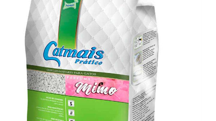 Granulado Sanitário Prático Gatos Perfume Mimo 1,8kg - Catmais