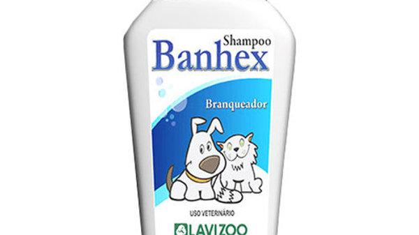 Shampoo para Cães e Gatos Banhex Branqueador 500ml Lavizoo