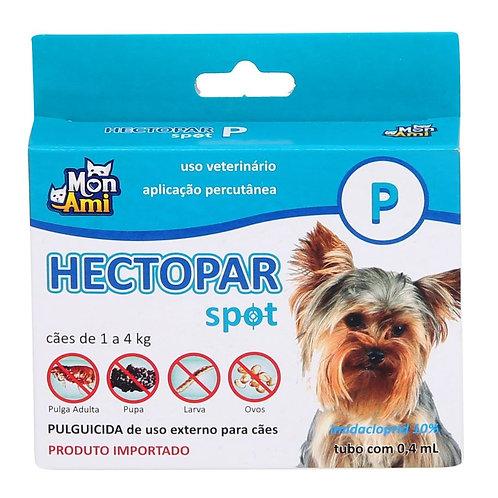 Antipulgas Hectopar P cães de 1kg a 4kg