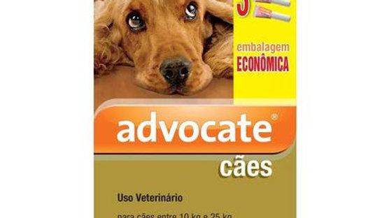 Antipulgas Advocate Combo para Cães entre 10 e 25kg 2,5ml - Bayer