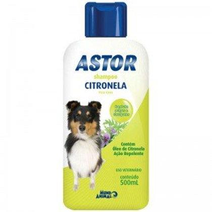 Shampoo Citronela 500ml Cães - Astor