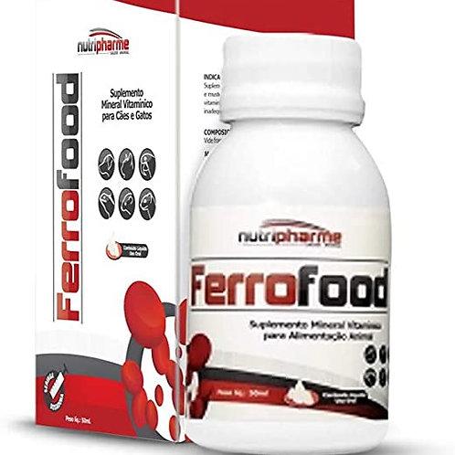 Suplemento Alimentar Pet Ferrofood Suspensão 50ml - Nutripharme