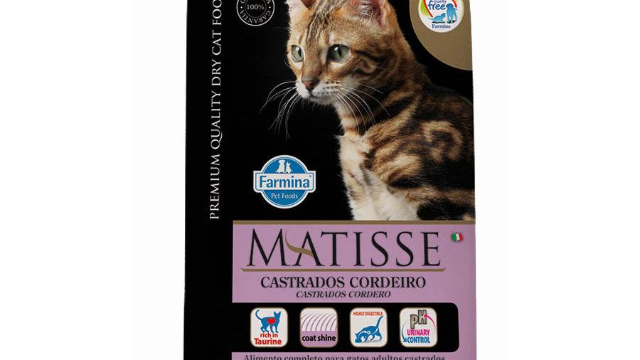 Ração Gatos Castrados Adultos sabor Cordeiro 800gr - Matisse