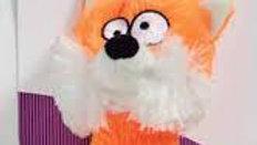 Brinquedo de pelúcia Raposa Plush Jambo