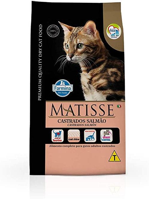 Ração Matisse Gatos Castrados Adultos sabor Salmão 7,5kg