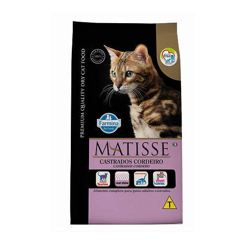 Ração Matisse Gatos Castrados Adultos sabor Cordeiro 7,5kg