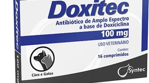 Antibiótico Pet a base de Doxiciclina Doxitec 100mg - Syntec