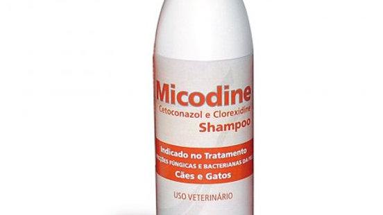 Shampoo Medicamentoso Pet Micodine 500ml - Syntec