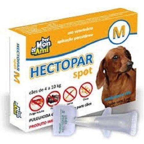 Antipulgas Hectopar tam. M para cães 4kg a 10kg