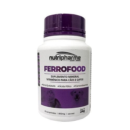 Suplemento Vitamínico  para Pet Ferrofood 30 comprimidos - Nutripharme