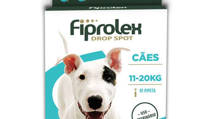 Antipulgas Fiprolex 1,34ml Cães de 11kg a 20kg - Ceva