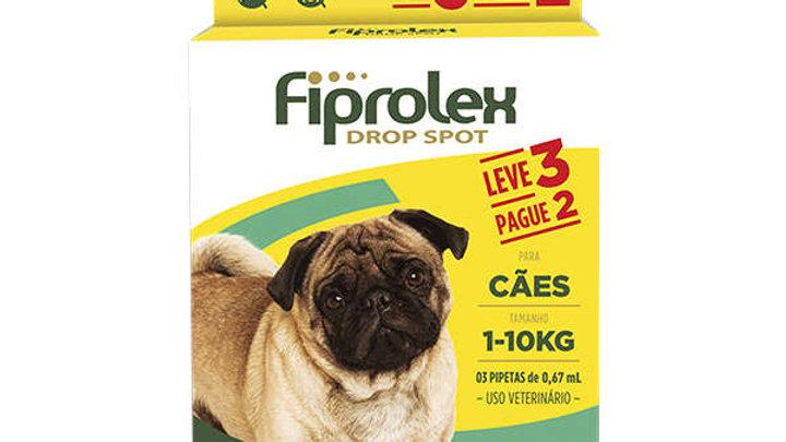 Antipulgas Fiprolex 0,67ml Combo Cães 1kg a 10kg  - Ceva