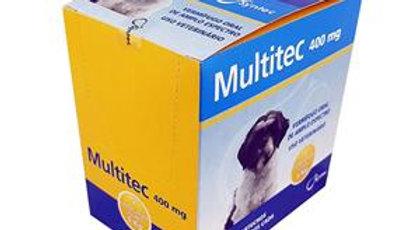 Vermífugo Oral Cães Multitec 400mg Display com 12 unidades- Syntec