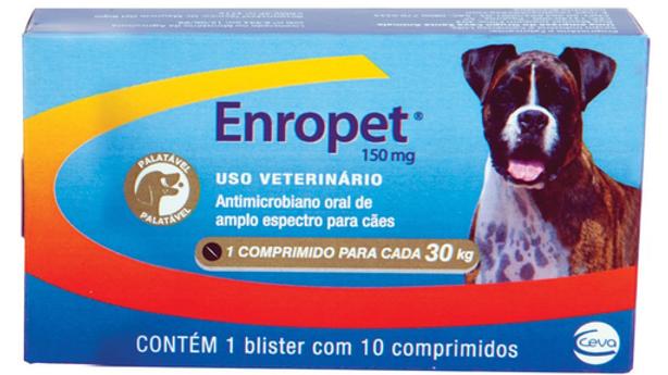 Antimicrobiano Enropet  150mg - Ceva