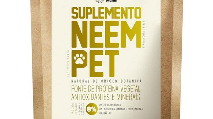Suplemento Alimentar Natural Neem Pet Preserva Mundi Para Cães - 100g