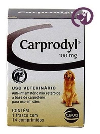 Anti-inflamatório Carprodyl  100mg com 14 comprimidos - Ceva