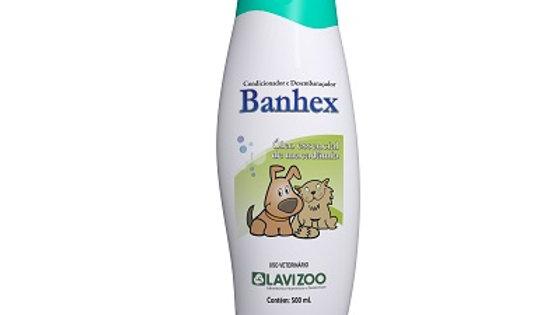 Condicionador e Desembaraçador para Cães e Gatos Banhex 500ml Lavizoo
