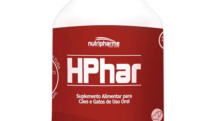 Suplemento Alimentar Pet Hphar 60ml - Nutripharme