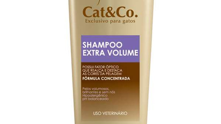 Shampoo Gatos Extra volume 200ml - Cat&Co