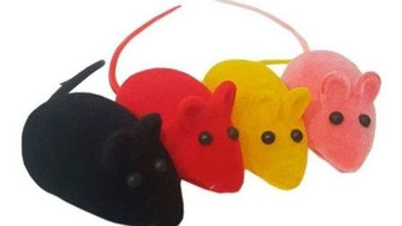Brinquedo para Gatos Ratinhos de Vinil com 12 unid. cores variadas - Puppets
