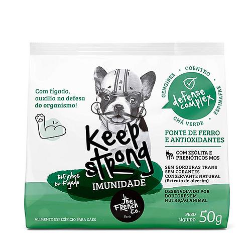 Bifinhos Super Premium Cães Keep Strong Imunidade Fígado 50gr - The French Co