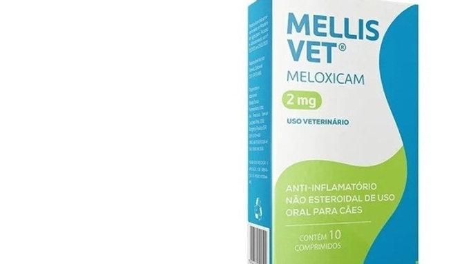 Anti-inflamatório Cães Mellis Vet 2mg 10 comprimidos - Avert