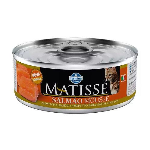 Alimento Úmido Matisse Mousse Cat sabor Salmão 85gr