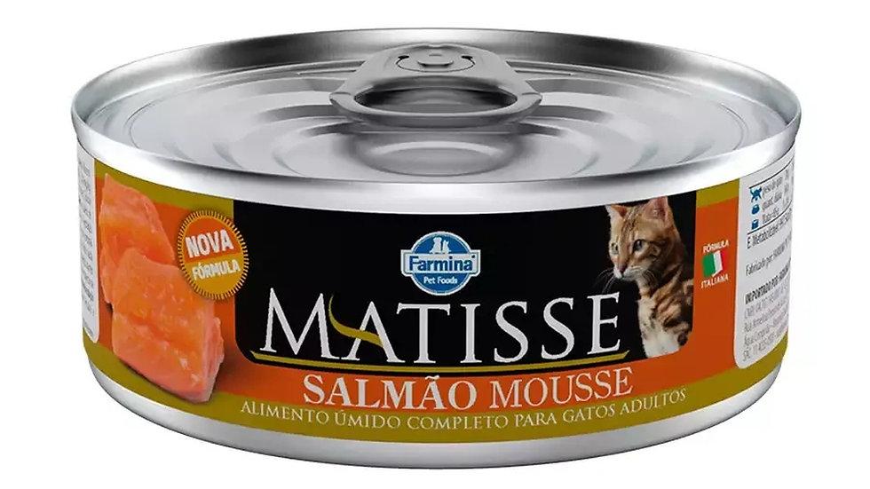 Alimento Úmido Mousse Cat sabor Salmão 85gr - Matisse