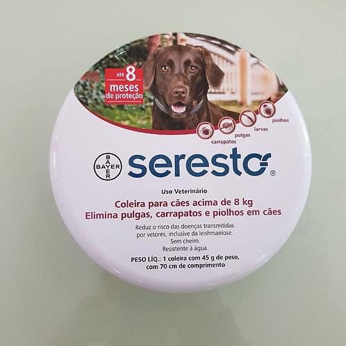 Coleira Antipulgas para Cães e Gatos Seresto tam G - Bayer
