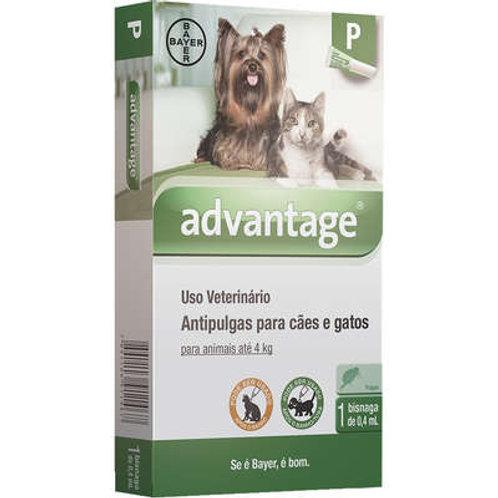 Antipulgas Advantage Cães e Gatos 0,4ml - Bayer
